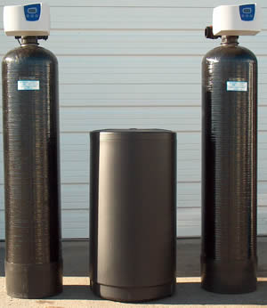 Residential water softener systems